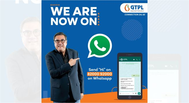 GTPL Hathway launches WhatsApp-powered 'GIVA' for customer connect