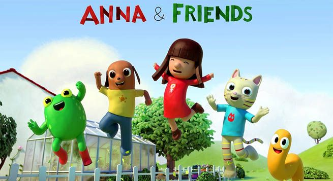 Superights signs ViacomCBS to launch 'Anna & Friends'