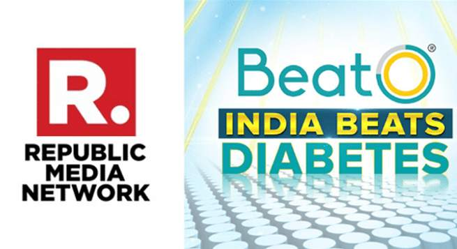 Republic Media, BeatO join hands for diabetes awareness campaign