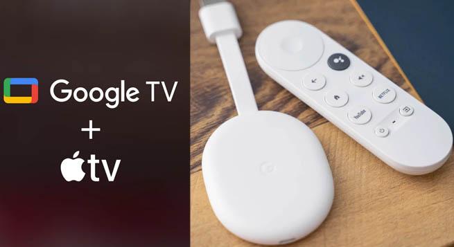 गूगल Apple TV becomes