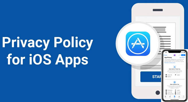 एप्पल issued a privacy policy for the App Store