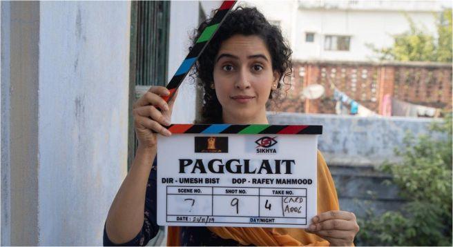Netflix's 'Pagglait' felt special from day one: Sanya Malhotra
