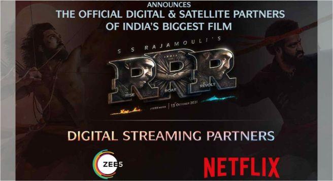 ZEE5, Netflix get streaming rights of 'Rajamouli's 'RRR'