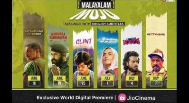 Jio Studios announce six Malayalam films on Jio Cinema