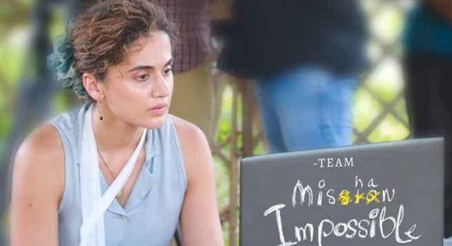 Taapsee Pannu back with Telugu film 'Mishan Impossible'