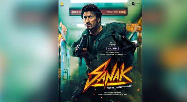 Vidyut Jammwal's 'Sanak' to release on Disney+Hotstar