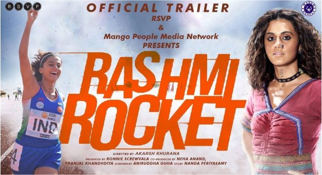Avoiding clash with big films, 'Rashmi Rocket' to debut on Zee5