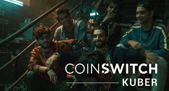 CoinSwitch Kuber signs Ranveer Singh as brand ambassador