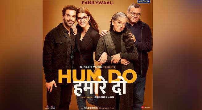 Disney+Hotstar unveils 'Hum Do Hamare Do' teaser